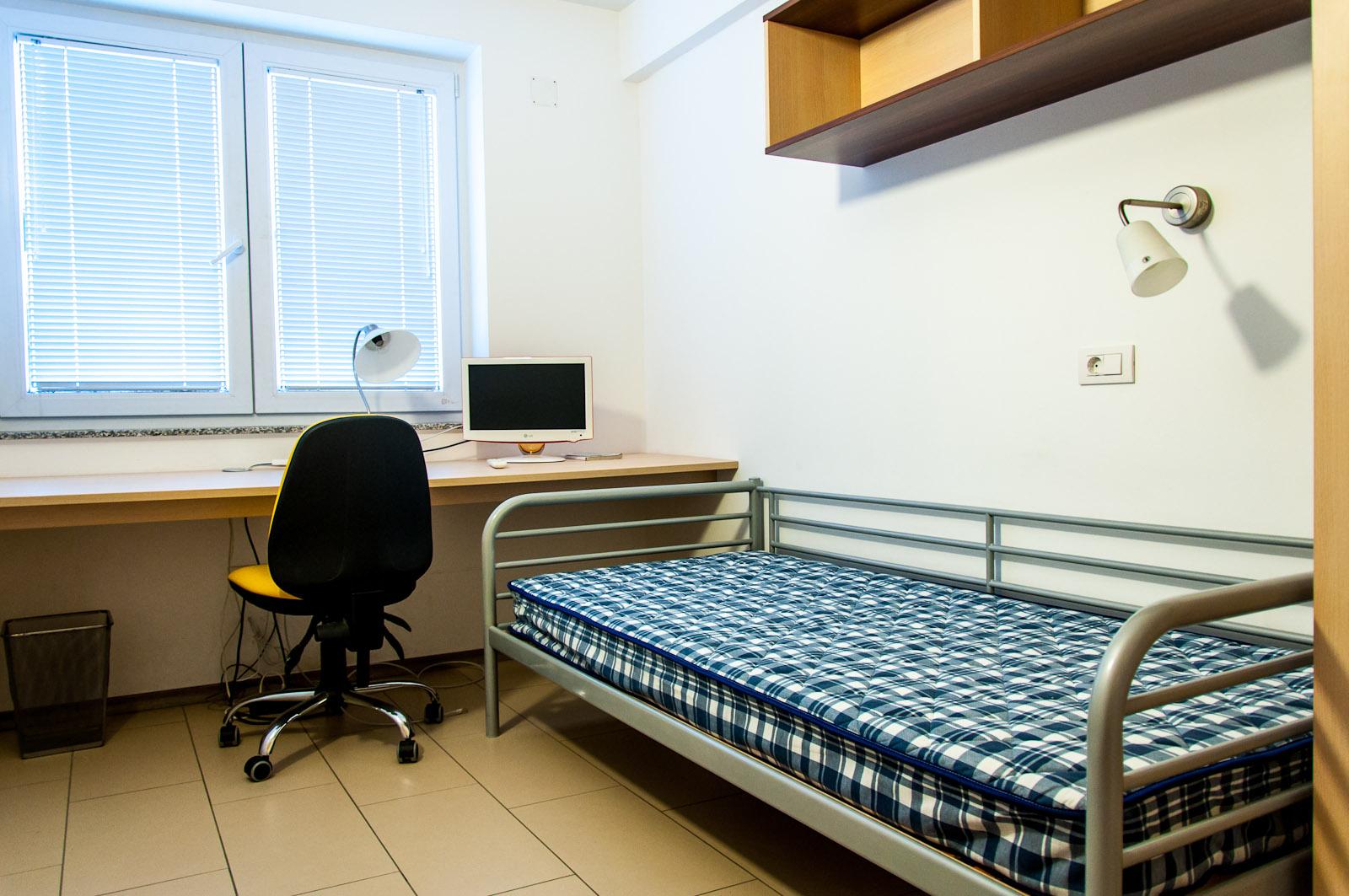 Študentske sobe polno opremljene